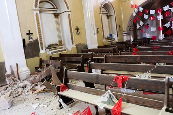 La Iglesia en México ha recaudado 20 millones para la emergencia