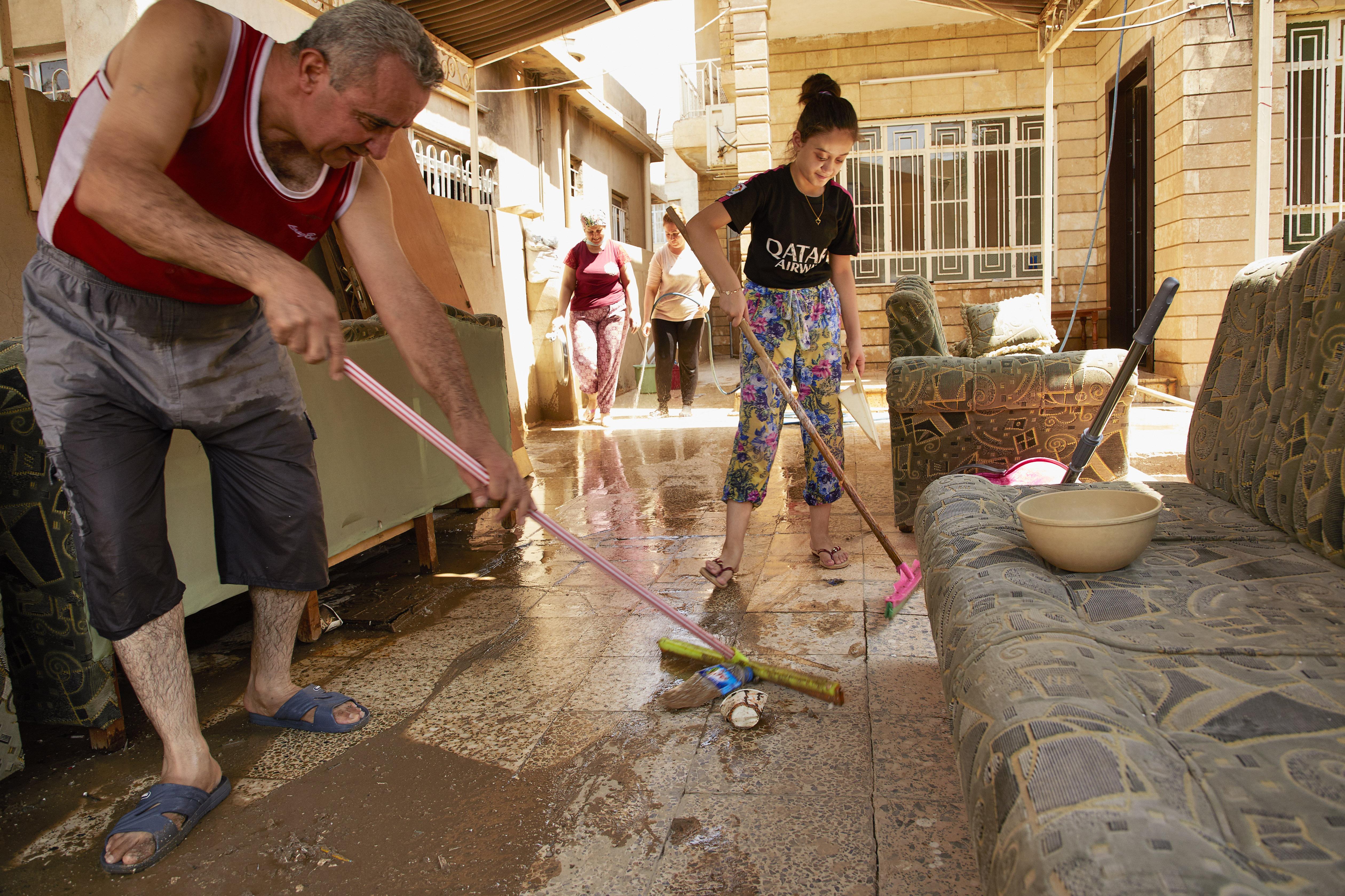 Llanura de Nínive: limpiando los escombros del Estado Islámico
