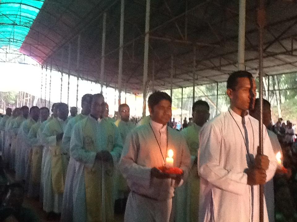 Una Iglesia para un santuario mariano en la diocésis de Mymesingh, Bangladesh