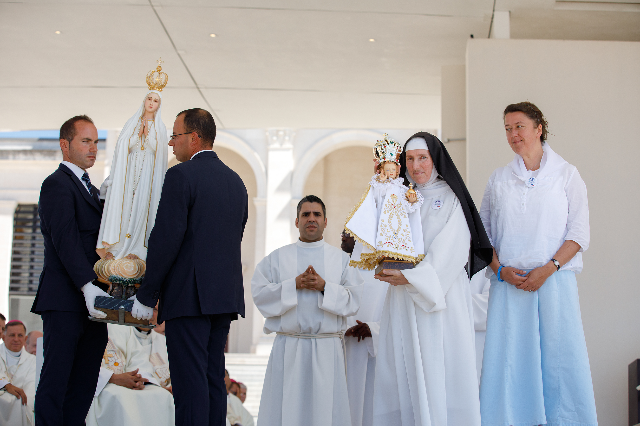 En la República Checa continúa peregrinaje de la Virgen de Fátima y del Niño Jesús de Praga