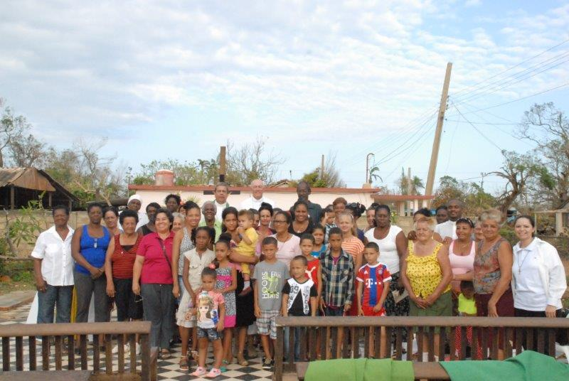 Cuba: Nuevos techos para casas y reparación de edificios eclesiales dañados por el huracán Irma