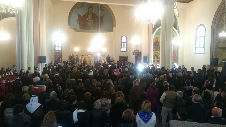 Siria: Consagran el altar de la Catedral de Homs, luego de que fuera centro de bombardeos