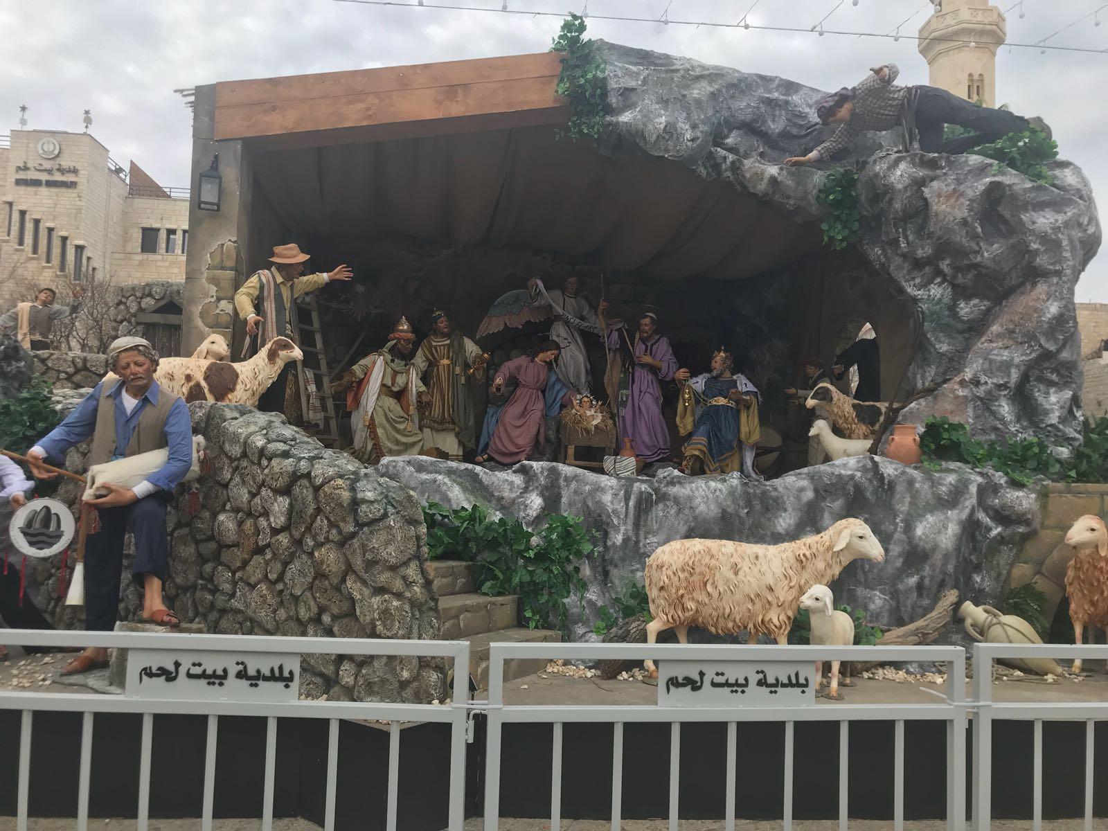 """Belén: """"La paz anunciada por los pastores en este lugar sagrado siempre ha sido difícil"""""""