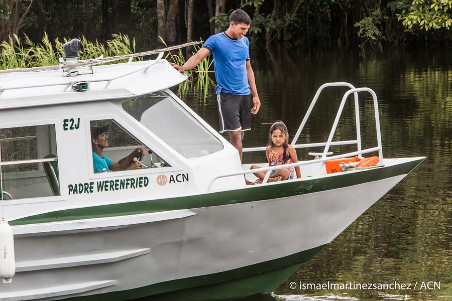 Proyecto: Dos embarcaciones para la pastoral en la región Amazonas