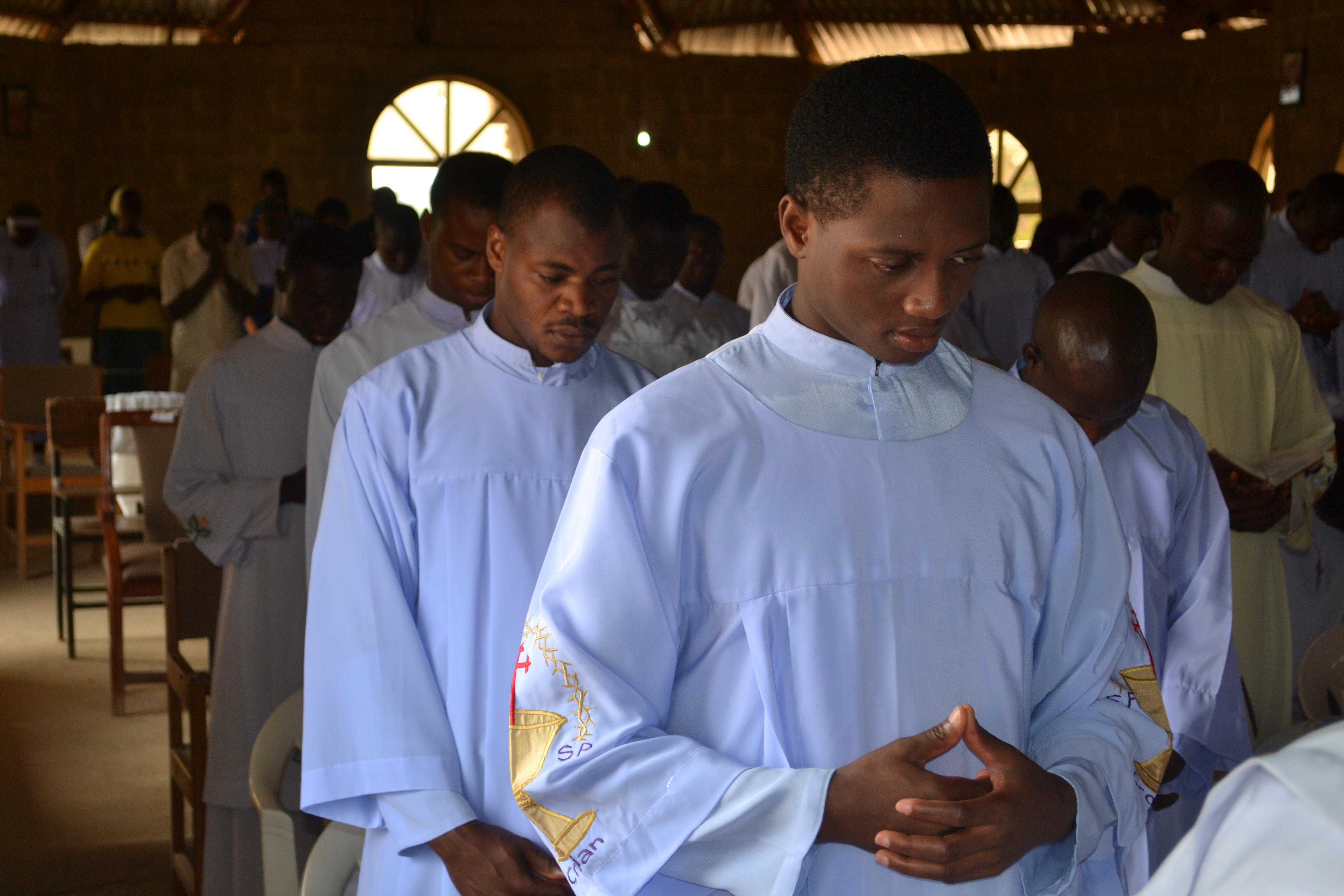 Proyecto: 57 seminaristas en Nigeria son apoyados por ACN