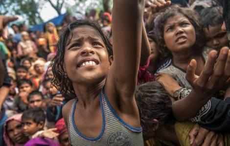 La escuela, la esperanza de los niños refugiados rohingya