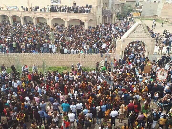 En Irak las Iglesias abarrotadas en primera Semana Santa