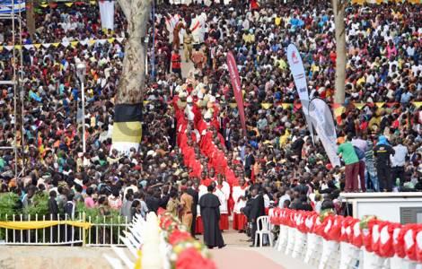 Uganda se prepara para la gran fiesta en honor a sus mártires