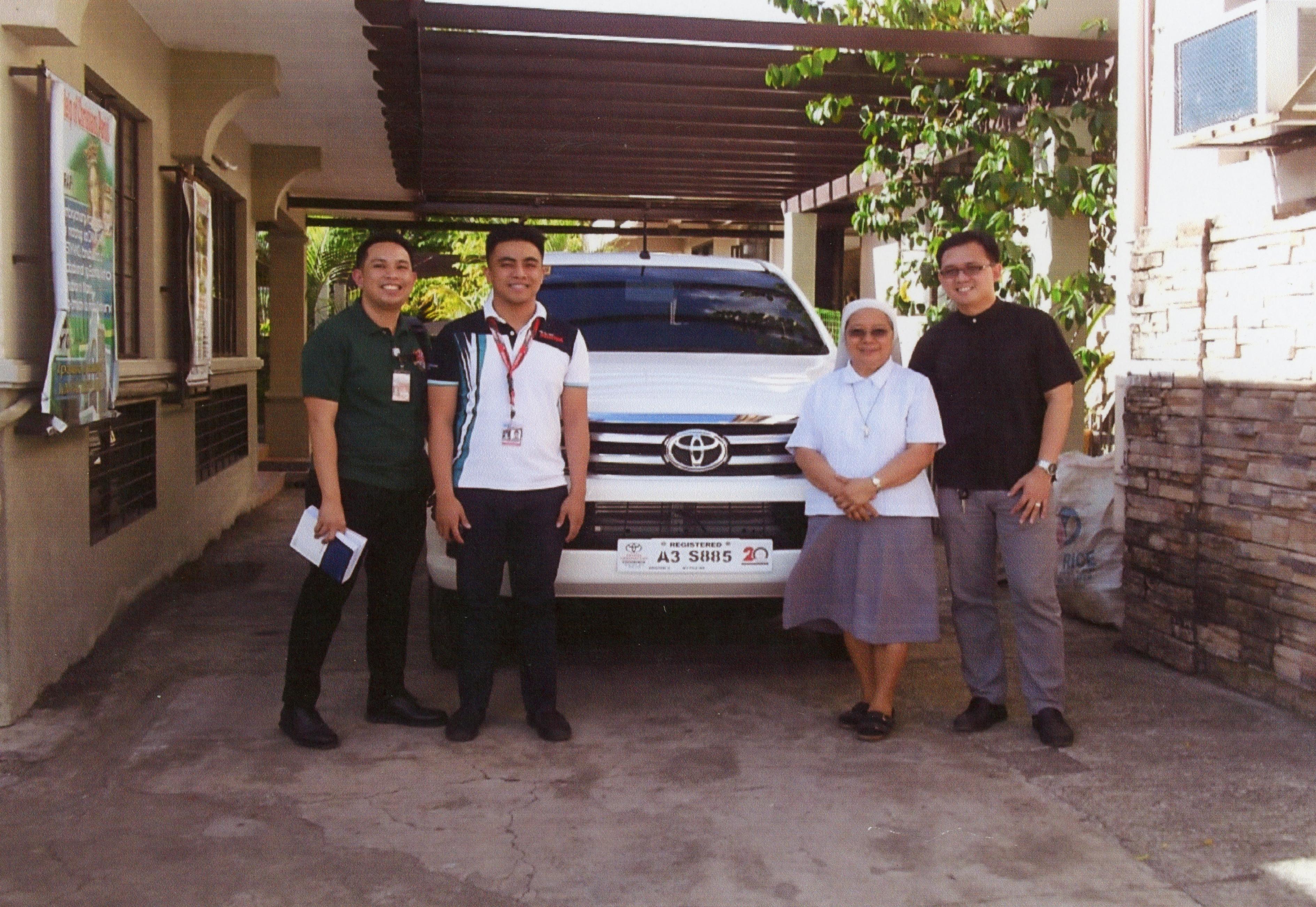 Proyecto: Un vehículo para la pastoral de tribus nativas en Filipinas