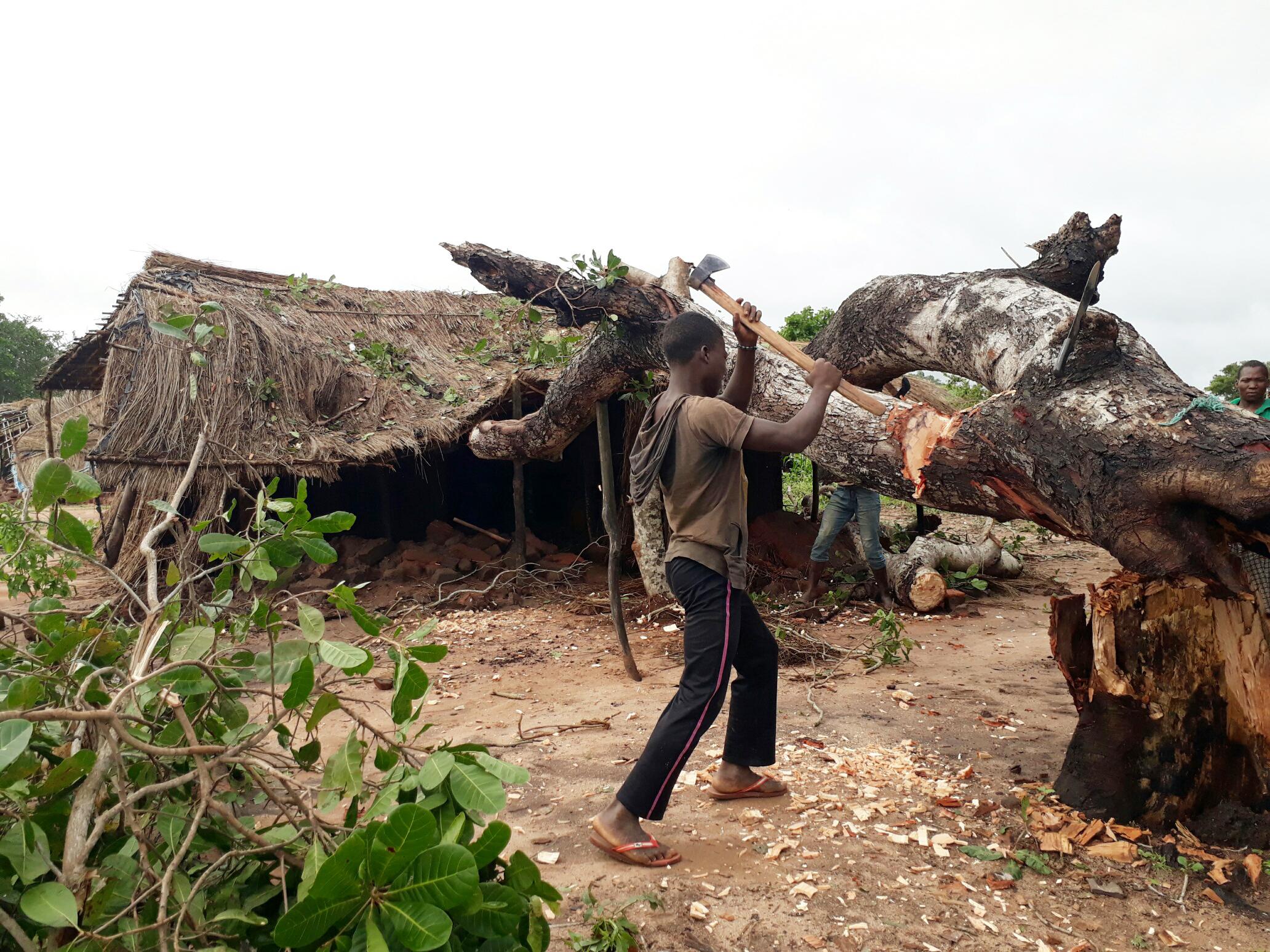 Proyecto: Reconstrucción de capillas en Mozambique