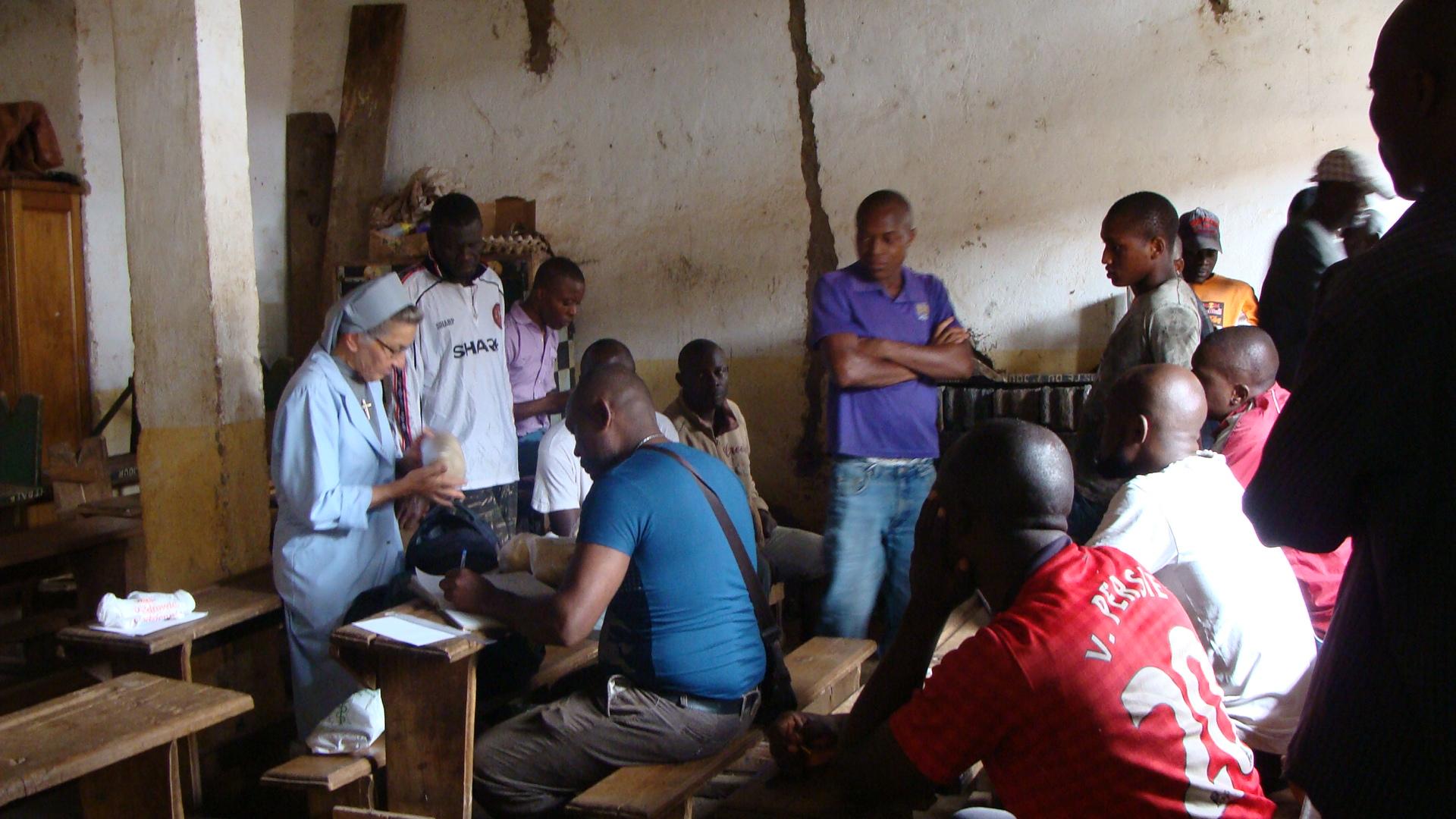 ACN rehabilita la capilla de la prisión de Bafoussam