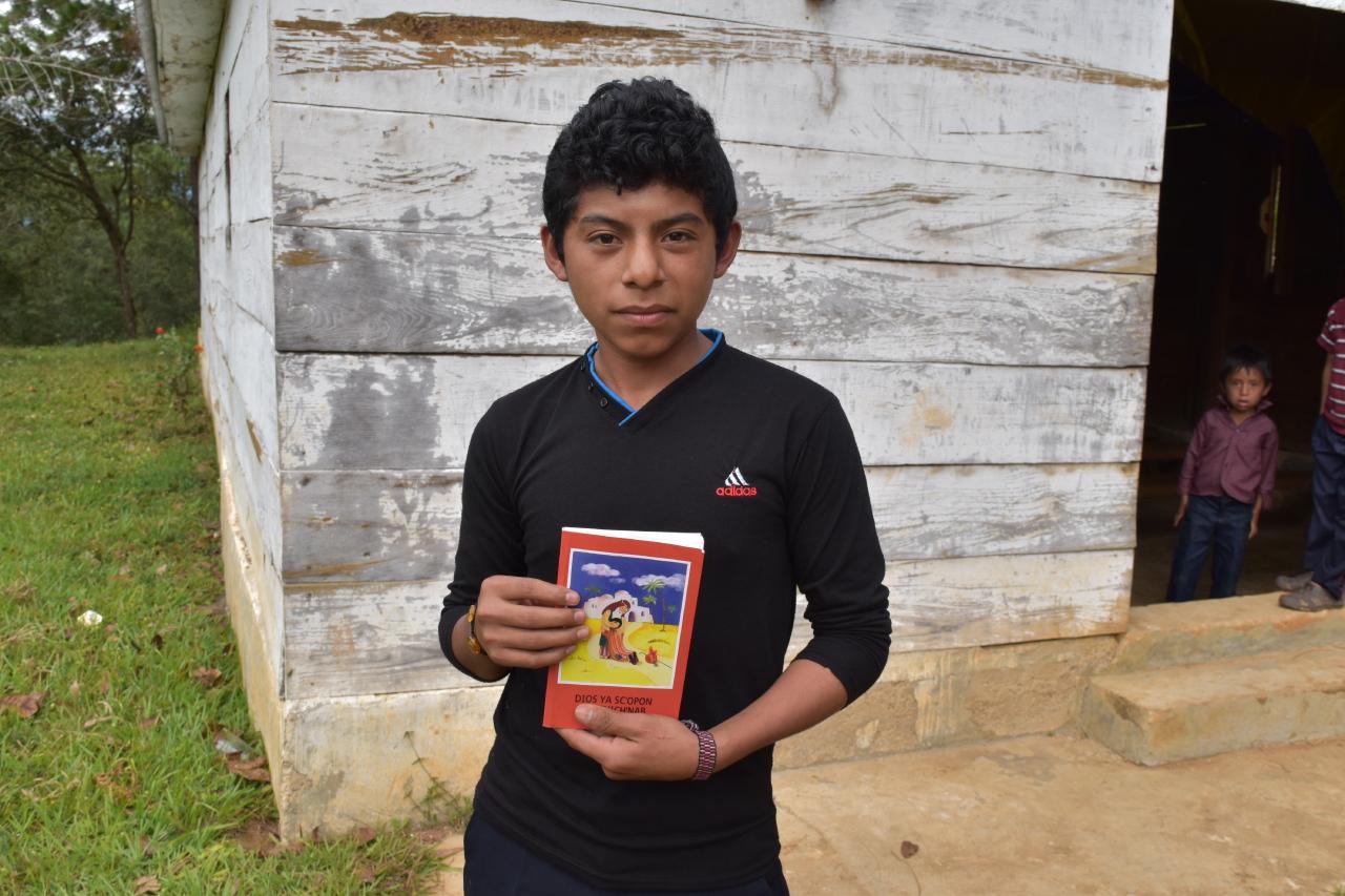 México: 30 mil Biblias del Niño en lengua tzeltal
