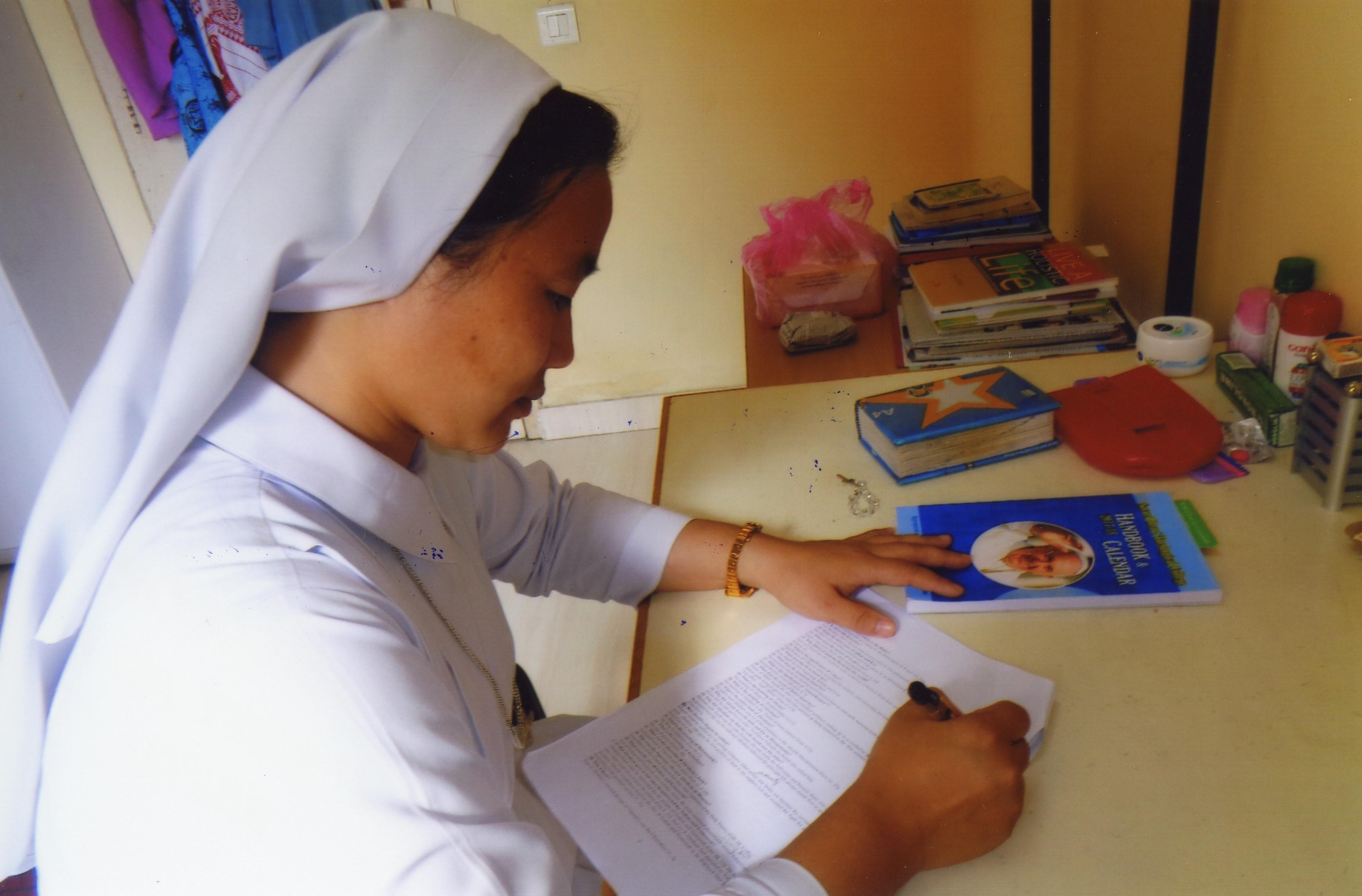India: Ayuda para la formación de religiosas
