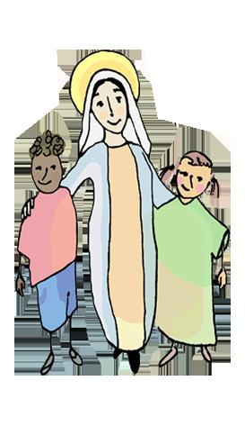"""Participa en """"Un millón de niños rezando el Rosario"""""""