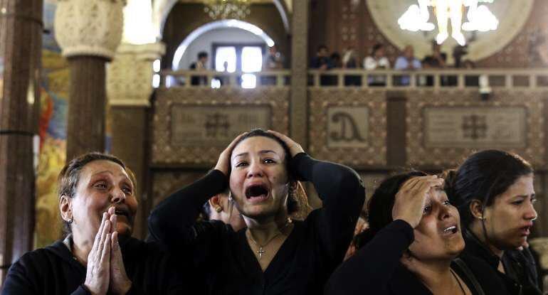 Atacan peregrinación cristiana en Egipto