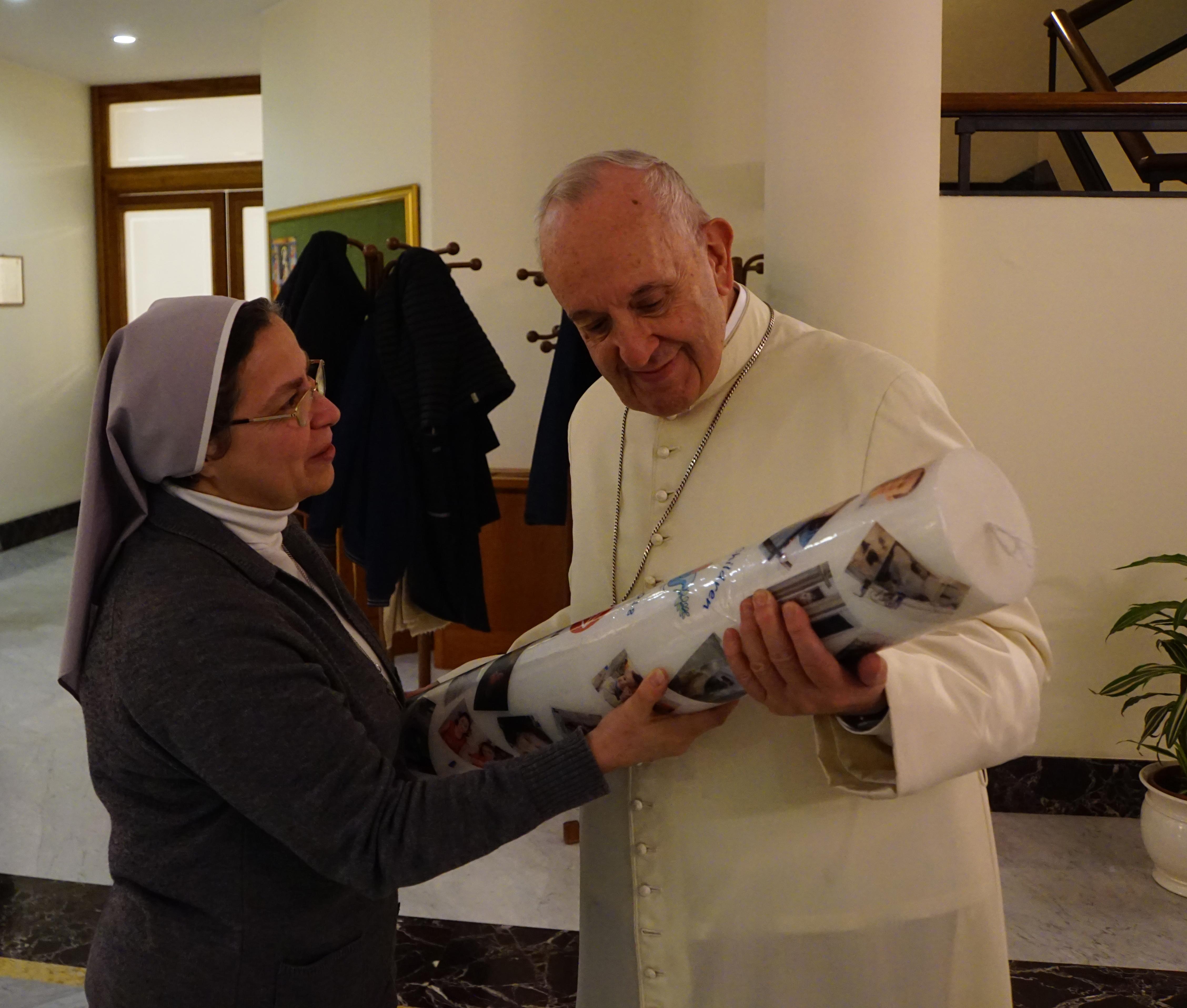 Misas para dar gracias al Papa Francisco por su apoyo en Oriente Medio