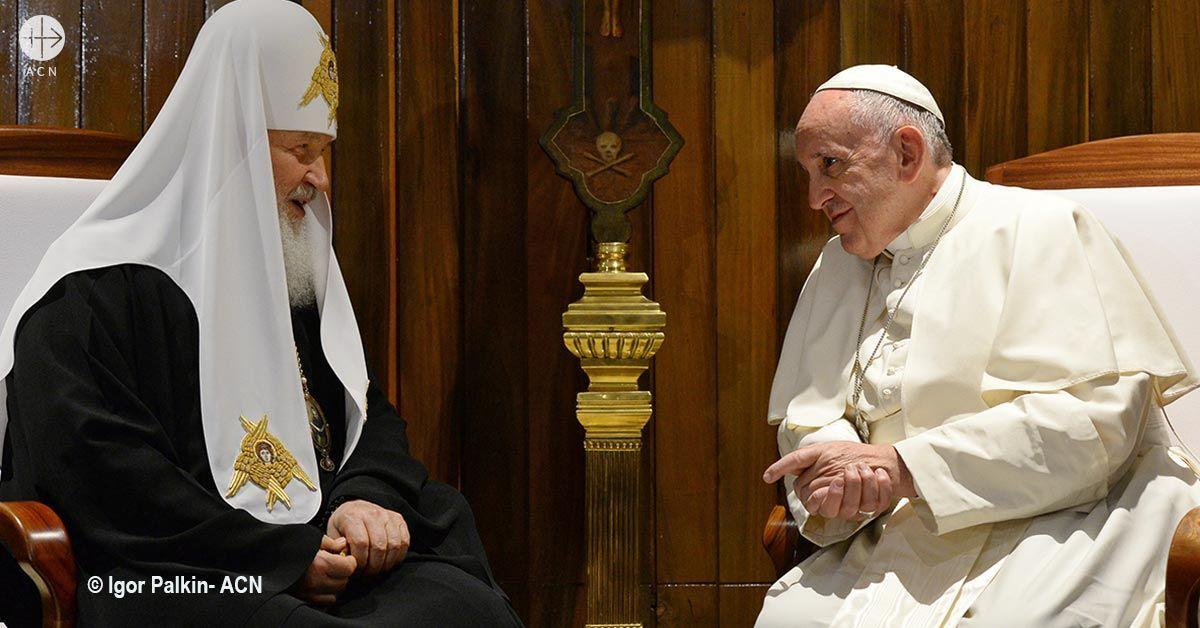 Rusia: Conferencia ecuménica con ocasión del tercer aniversario del histórico encuentro entre el Papa Francisco y el Patriarca Cirilo