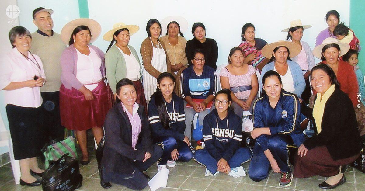 Ayuda al sustento para cinco religiosas activas en Cochabamba en Bolivia