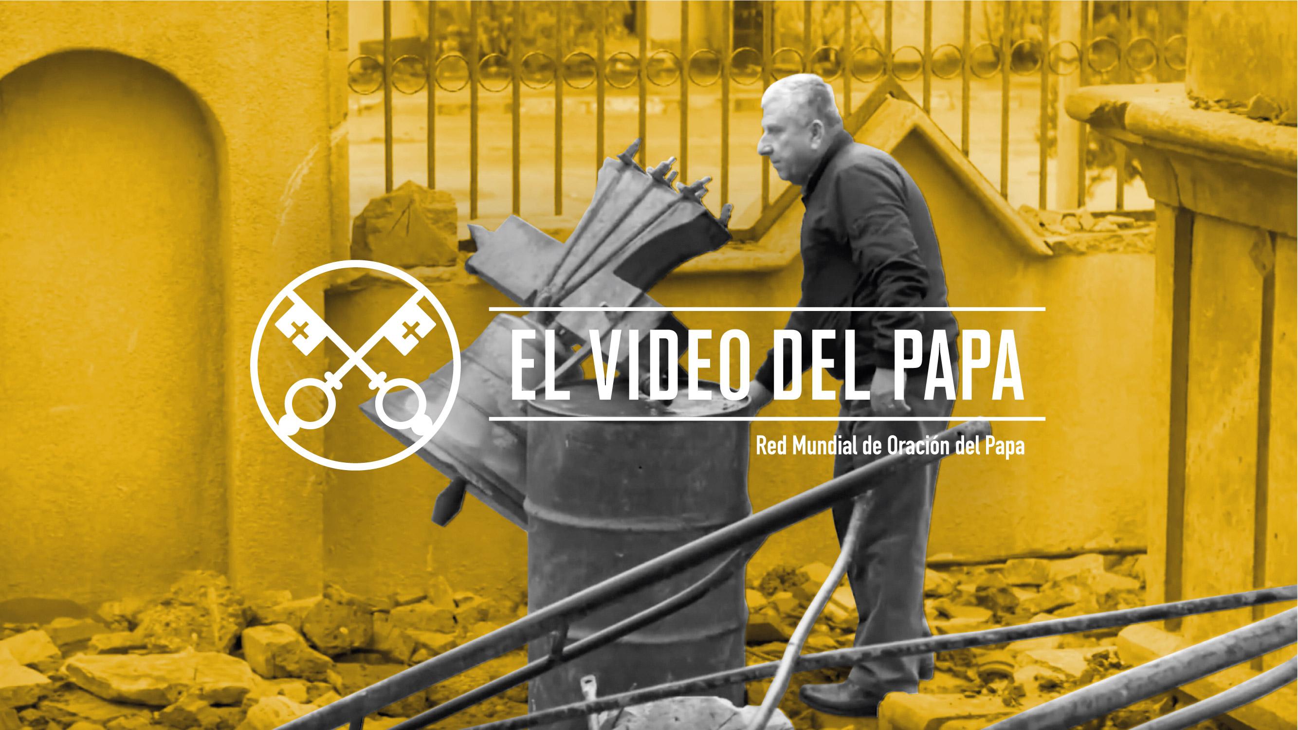 ACN patrocinador del video del Papa para rezar por las personas perseguidas por la fe