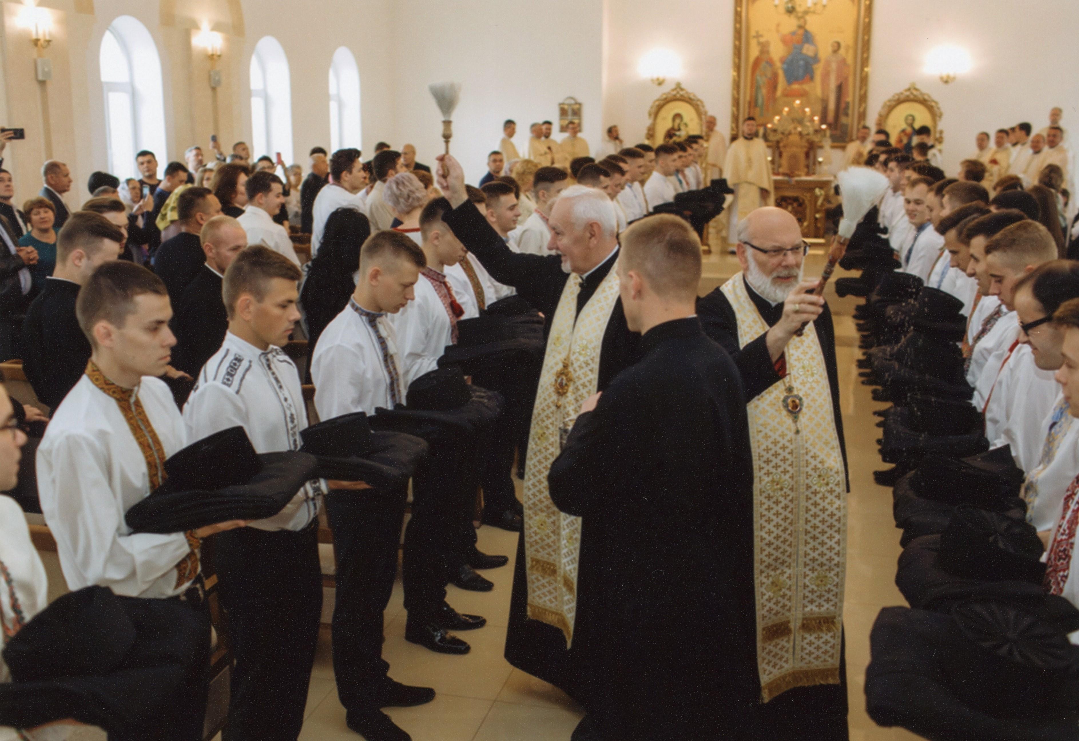 Ucrania: Ayuda a la formación para 213 futuros sacerdotes