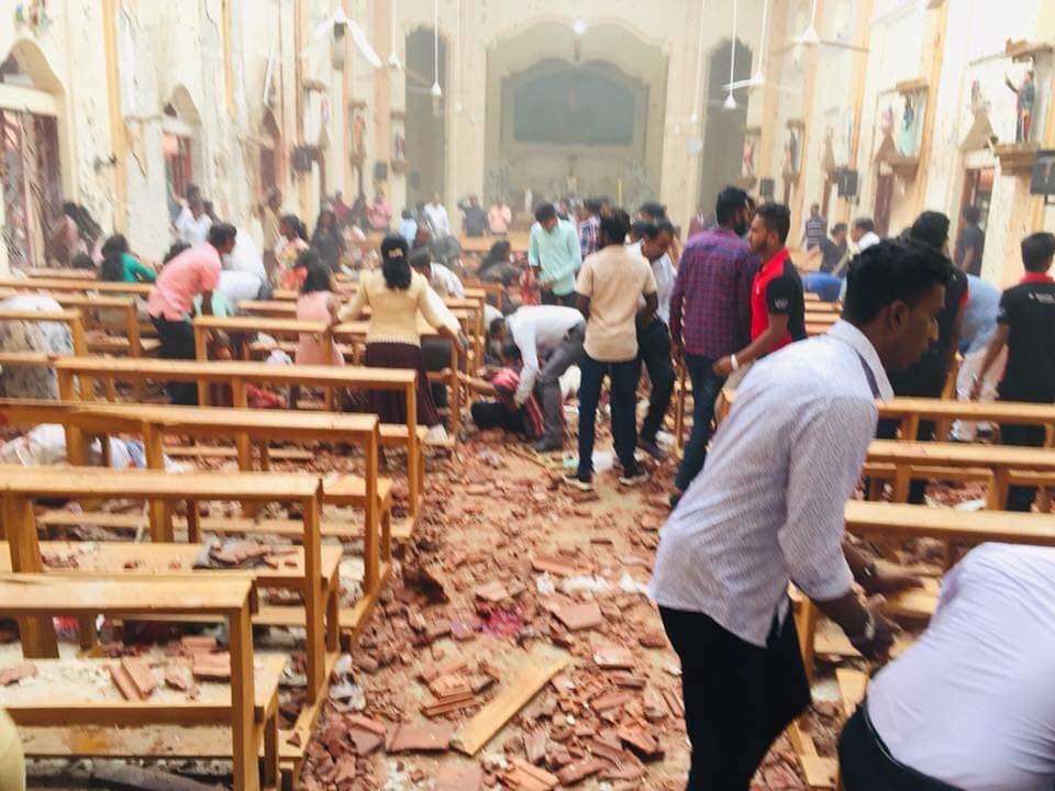 """Sri Lanka: """"Los atentados son un crimen contra la humanidad"""""""