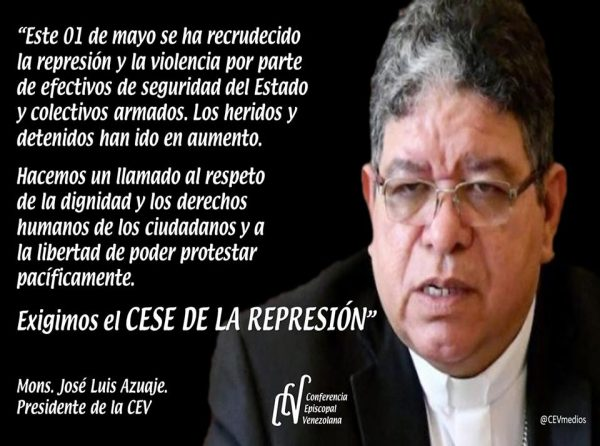 El llamado de los obispos de Venezuela