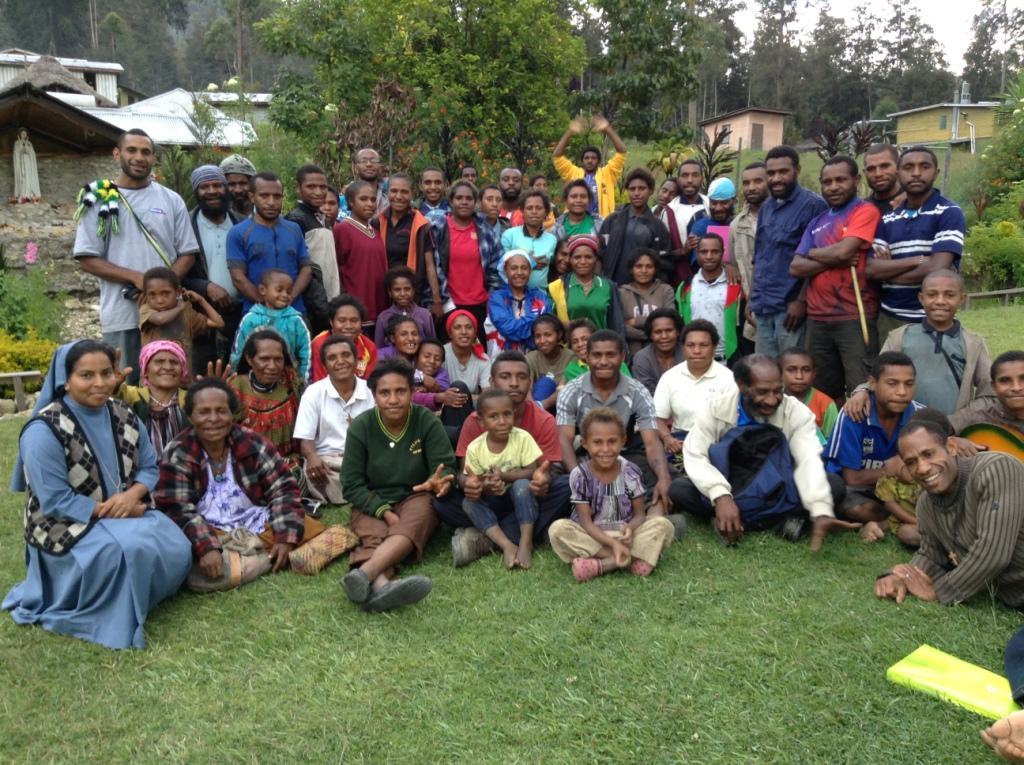 Papúa Nueva Guinea: Apoyo a la pastoral familiar