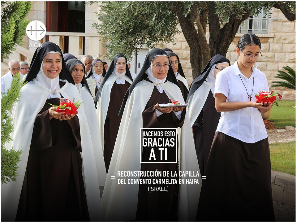Israel: Renovación de la iglesia del convento de las Carmelitas en Haifa