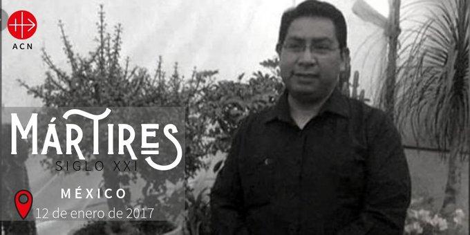 El padre Hernández fue secuestrado el 3 de enero de 2017, su muerte fue confirmada 9 días despuéss