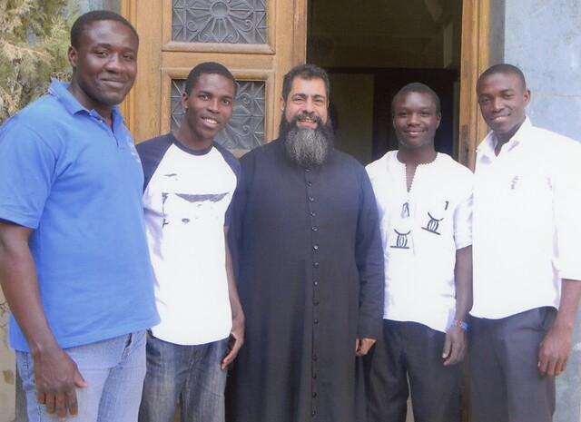 Egipto: Ayuda a la formación de cuatro futuros sacerdotes de la Sociedad de Misiones Africanas