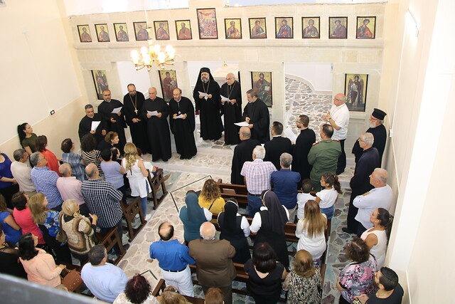 Inauguran la iglesia destruida por los yihadistas en 2012