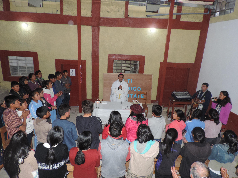 En Perú: renovación del edificio para la pastoral vocacional y la formación de los laicos