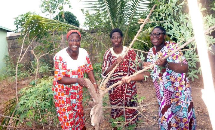 En Benin, en el oeste de África se ayuda al sustento para religiosas