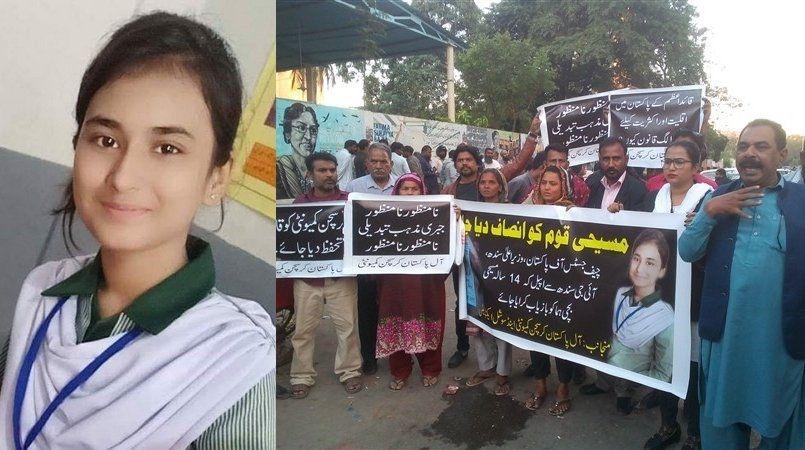 Los padres de la cristiana secuestrada Huma Younas amenazados