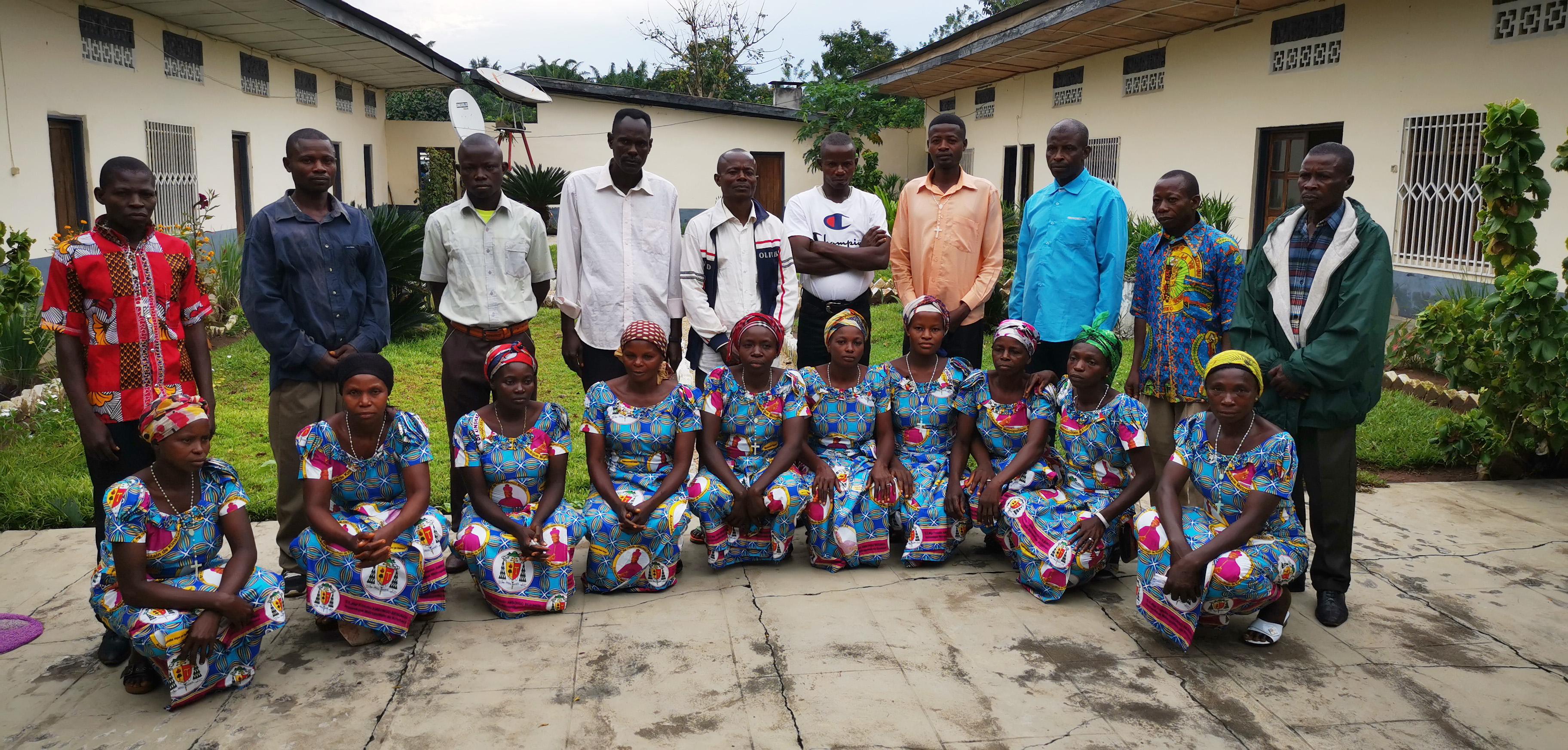 Congo: apoyo a la formación de 10 catequistas y sus familias