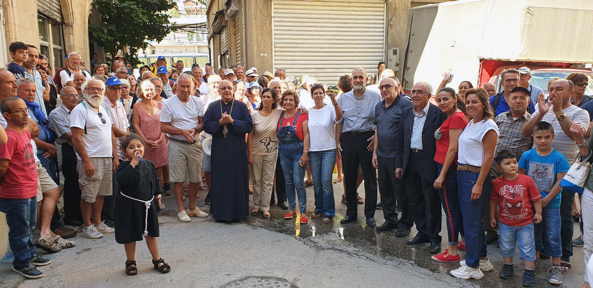 Líbano: Cristianos y musulmanes unidos en las protestas