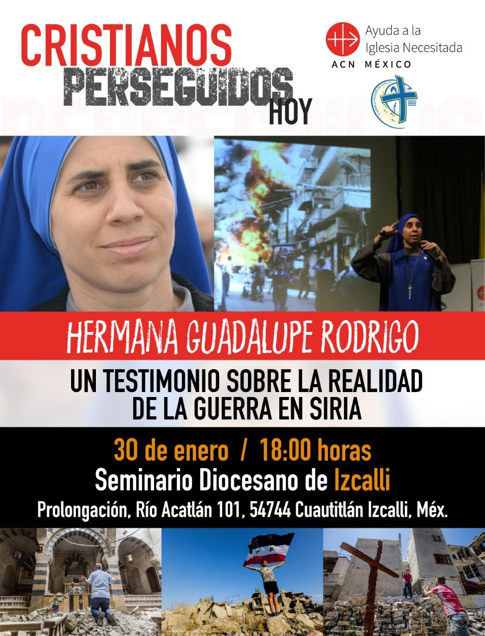 La hermana Guadalupe regresa a México