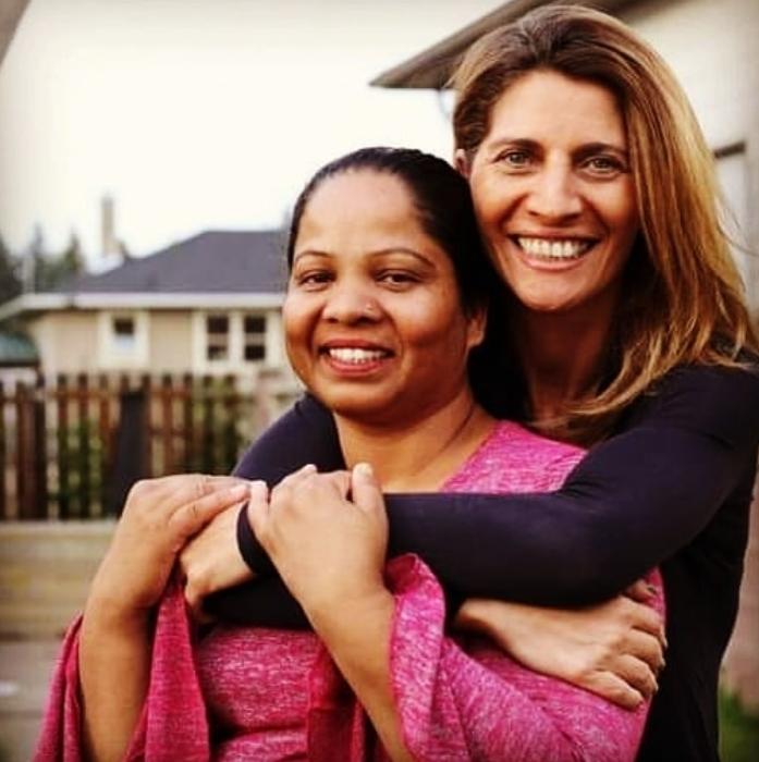 Primera imagen de Asia Bibi en libertad