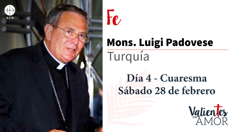 Mons. Luigi Padovese Fe