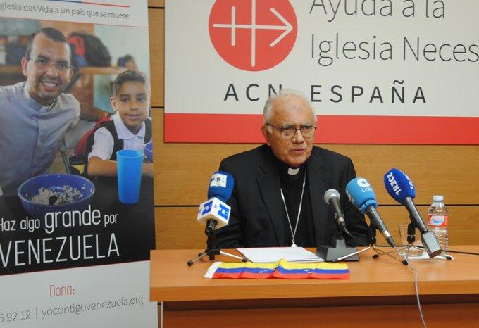 En Venezuela queremos una salida pacífica de esta situación: Cardenal Baltazar Porras