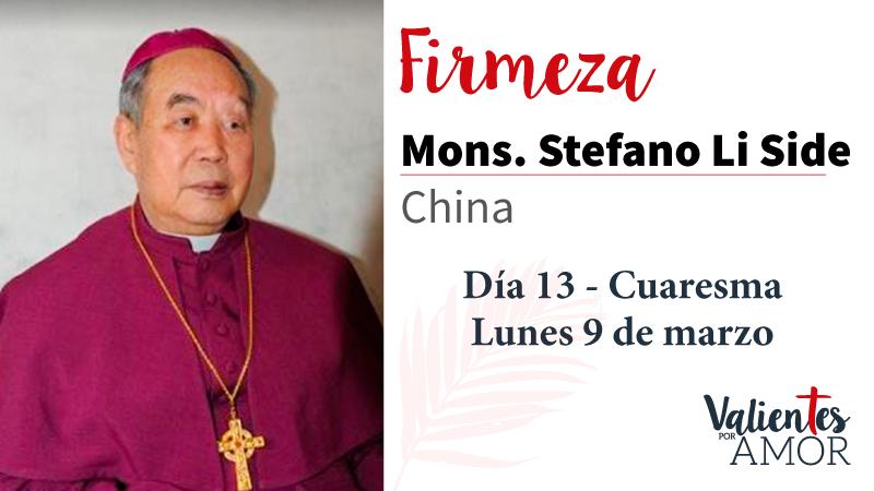 Mons. Stefano Li Side Firmeza
