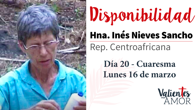 Hna. Inés Nieves Sancho