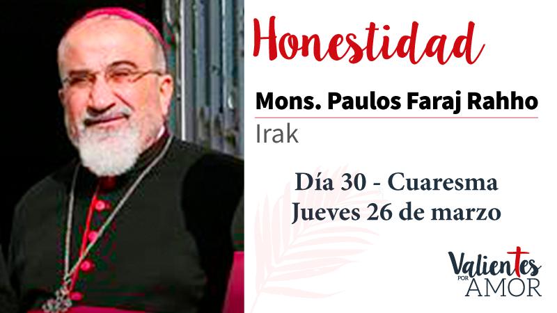 Mons. Paulos Faraj Rahho