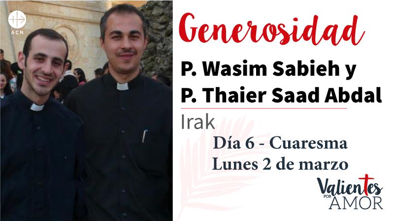 P. Wasim Sabieh y P. Thaier Saad Abdal