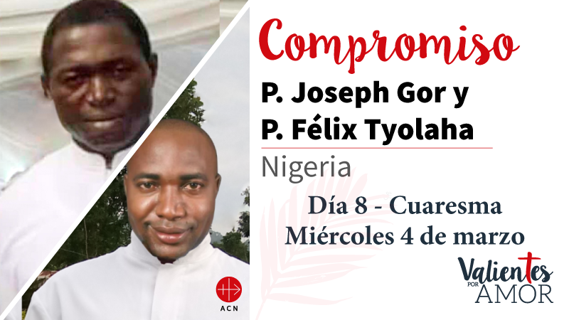 P. Joseph Gor y P. Félix Tyolaha