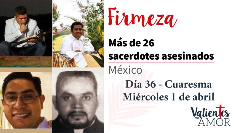 Más de 26 sacerdotes asesinados