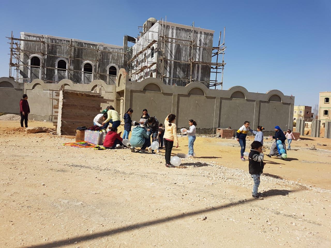 Egipto: Ayuda para la instalación de un salón de uso múltiples en iglesia
