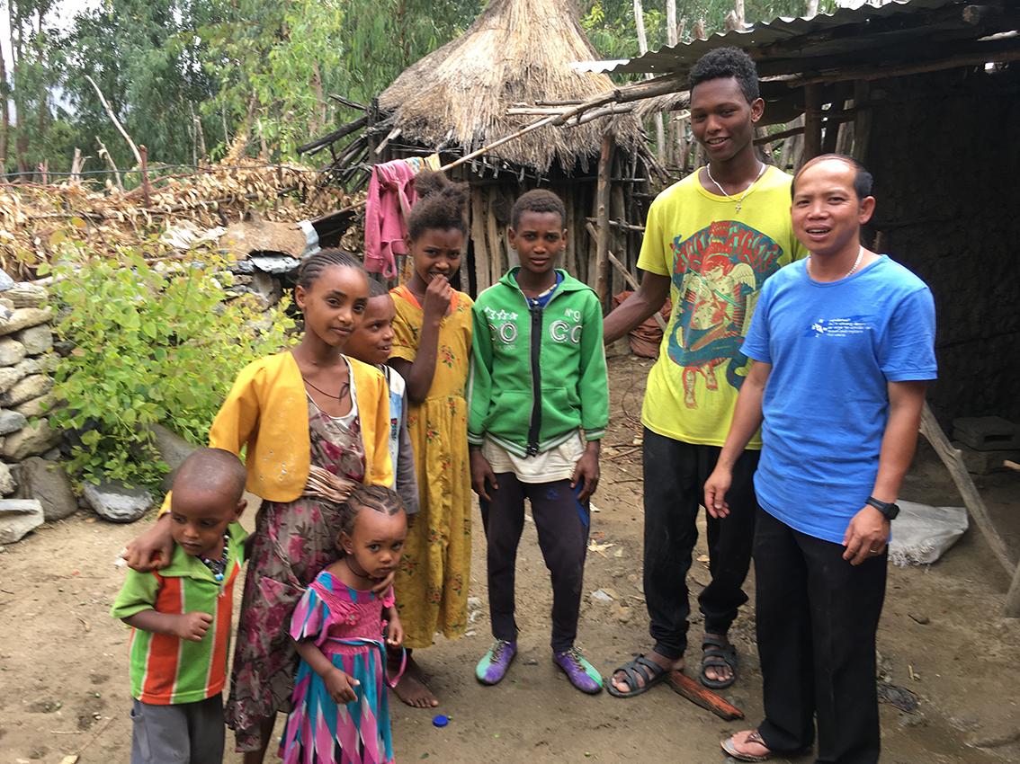 Etiopía: Ayuda a la pastoral juvenil y familiar de los Salesianos