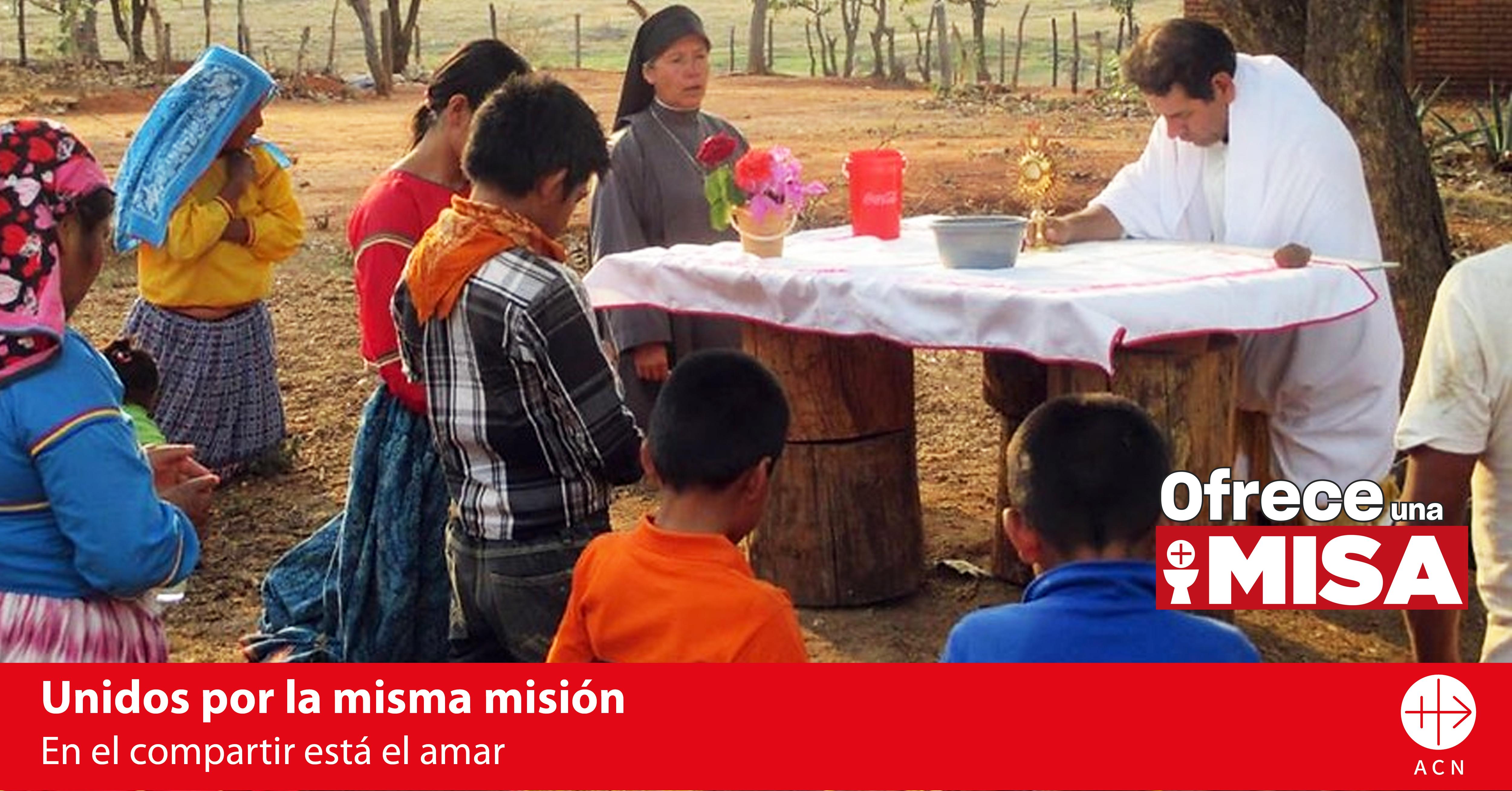 ACN ayuda a sacerdotes con intenciones de Misa