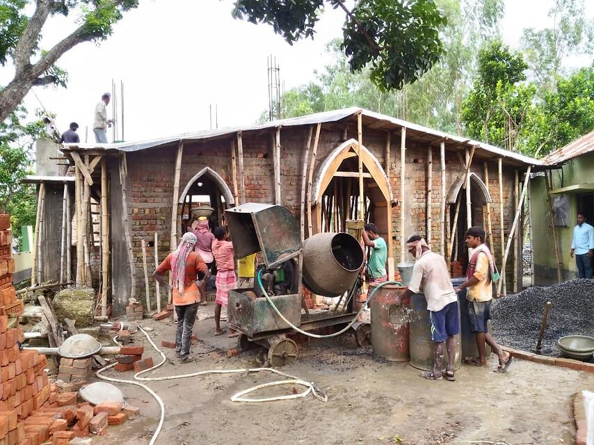 India: Una Iglesia para la parroquia de Bishrail